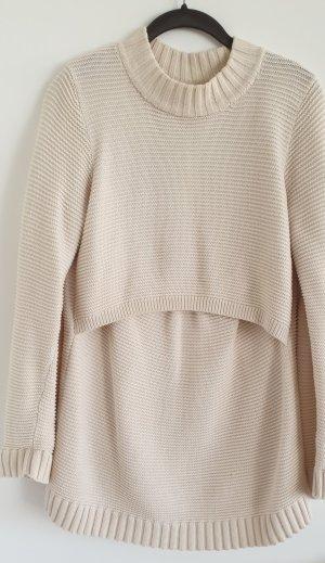Pullover mit Stillfunktion, Still-Pullover, Umstandsmode, Boob, Gr. M