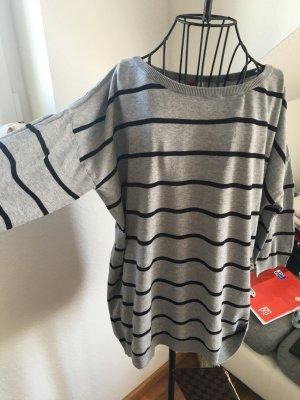 ¾ Pullover mit Streifen