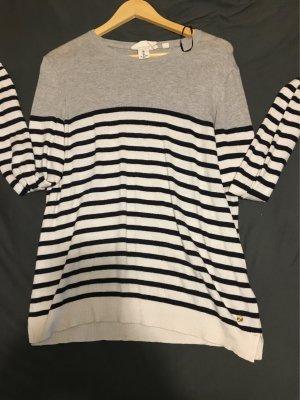 Pullover mit Streifen - Nur einmal getragen