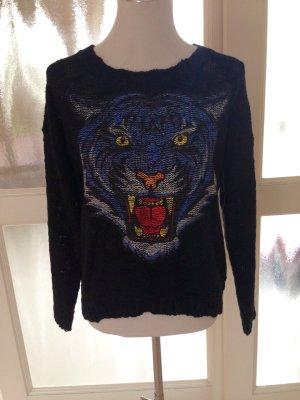Pullover mit Tigerkopf. NEU !!!