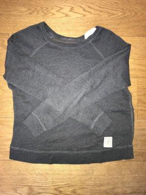 Pullover mit transparentem Rückendetail