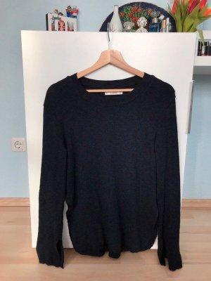 Pull & Bear Maglione lavorato a maglia blu scuro