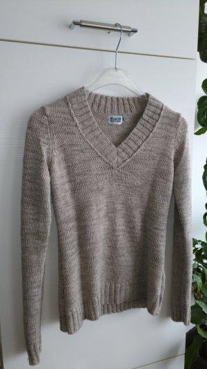 Pullover mit V Ausschnit