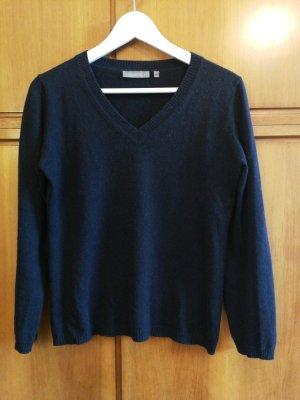 Cashmere Jumper dark blue