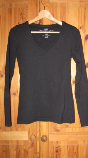 Pullover mit V-Ausschnitt in schwarz von Esprit, Gr. 40 – neu und ungetragen