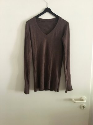 Long Sweater multicolored viscose