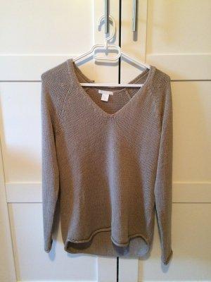 Pullover mit V-Ausschnitt von H&M in 34