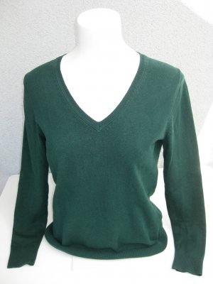 Pullover mit V-Ausschnitt von s´Oliver in dunkelgrün