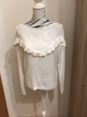 Pullover mit Volants