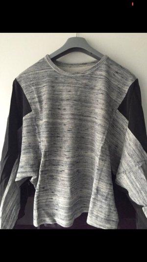 Zara Maglione oversize nero-grigio