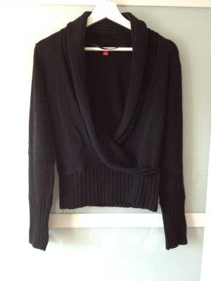 Pullover mit Wickeloptik