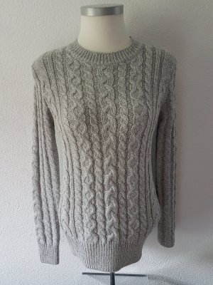 Atmosphere Cable Sweater light grey