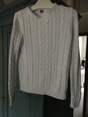 Pullover mit Zopfmuster der Marke Esprit