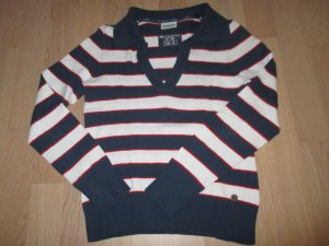 Pullover#Navy-Look
