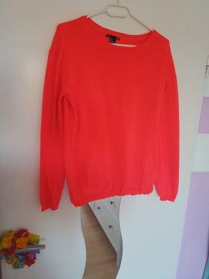 Pullover; Neon-PINK; H&M; Größe: S