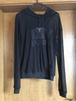 Ivy Park Jersey con capucha negro