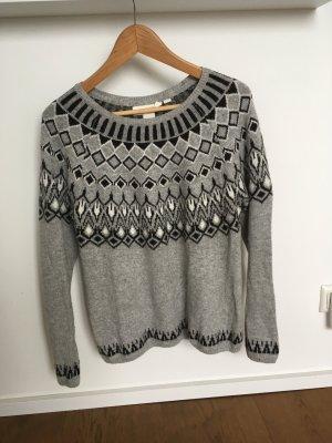 H&M L.O.G.G. Norwegian Sweater multicolored mixture fibre