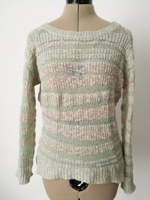 Pullover nude-rosa-mint
