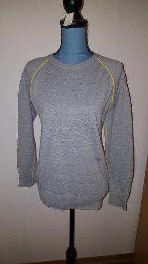 Pullover Oberteil grau Fishbone