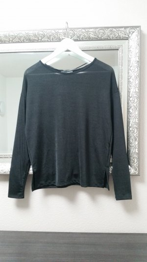 Pullover Oberteil Langarm Shirt Casual Oversize Schlitz Primark Gr. 34 36