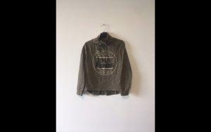 Pullover / Oliv-Grün