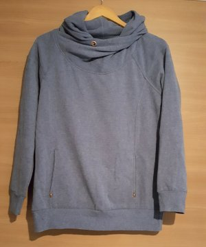 Pullover Only Gr. L Blau meliert #404
