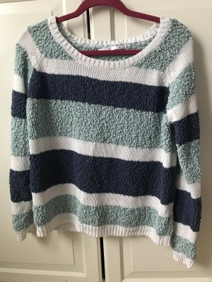 Pullover Only Gr M grün blau neu