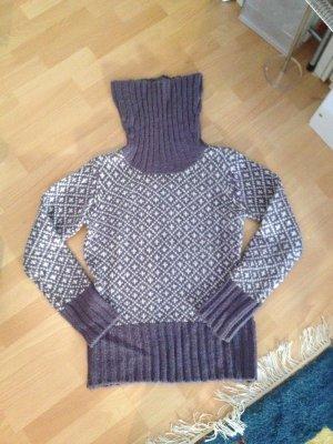 Pullover Only lila, weiß in Größe L