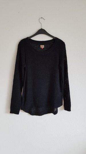 Pullover Only schwarz Größe L