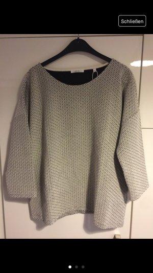 Pullover Opus Größe 42 neu weiß schwarz someday