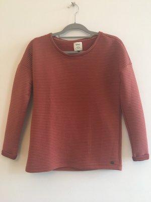 Pullover orange/rot
