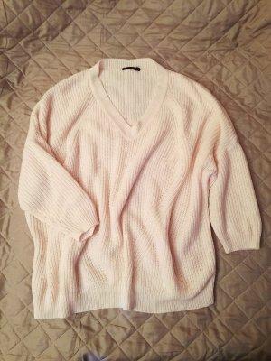 Jersey de punto rosa Poliéster