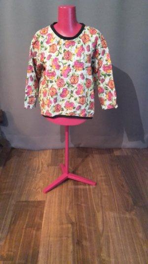 Pullover Oversized Blumenprint