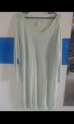 Pullover oversized mit nieten kleid tunika