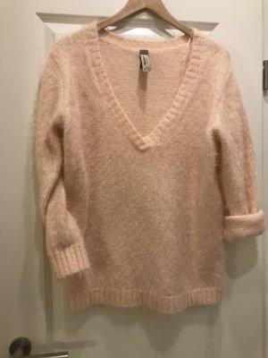 Pullover Oversized von Pull & Bear zartes rosa