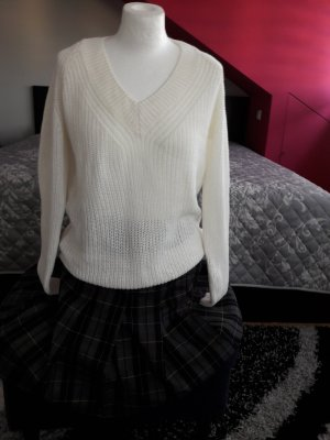 Pullover Overzized Only by Vero Moda Gr. Xs 34 Strick Long Pulli Over Size weiß