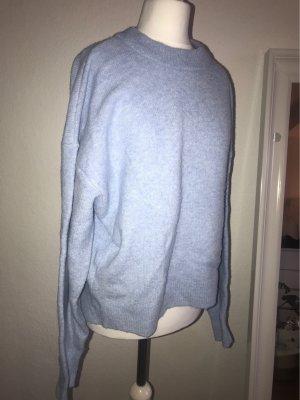 H&M Oversized trui azuur
