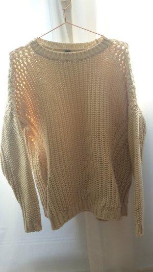 Pullover Pimkie Wollweiß Strick Knit