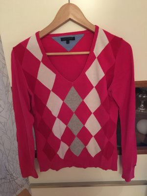 Pullover Pink mit Muster