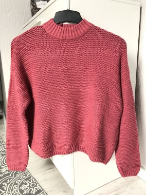 Bershka Knitted Sweater multicolored