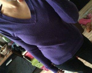 Pullover Primark atmosphere Größe 34 s xs lila neu 36 v-ausschnitt