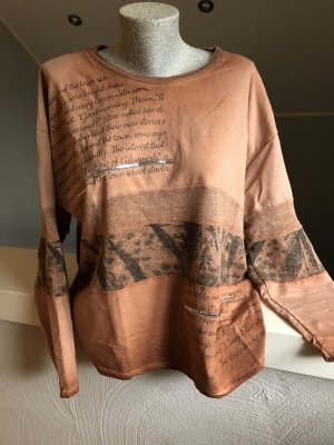 new collection Oversized Sweater russet-dark orange