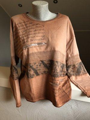 new collection Maglione oversize ruggine-arancione scuro
