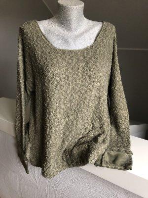 Arlette Kaballo Oversized trui khaki