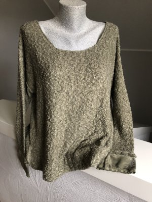 Arlette Kaballo Oversized Sweater khaki