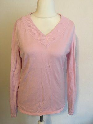Best Connections V-Neck Sweater light pink-pink