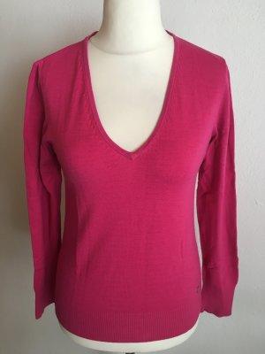 Pullover Pulli Basic V-Neck pink Gr. 40