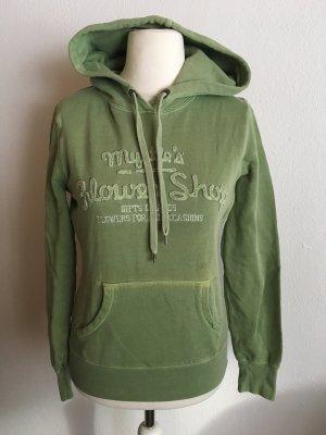 H&M L.O.G.G. Capuchon sweater lichtgroen-groen