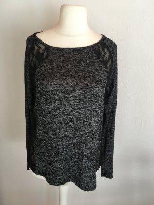 Crewneck Sweater black-grey