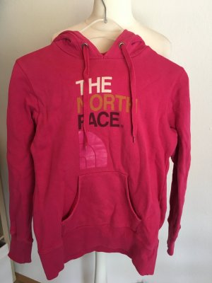 Pullover Pulli mit Kapuze Hoodie pink The North Face Gr. S